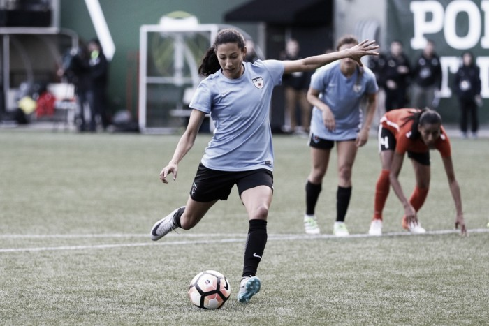 2017 Portland Invitational Recap: Christen Press leads Chicago Red Stars to victory over Houston Dash
