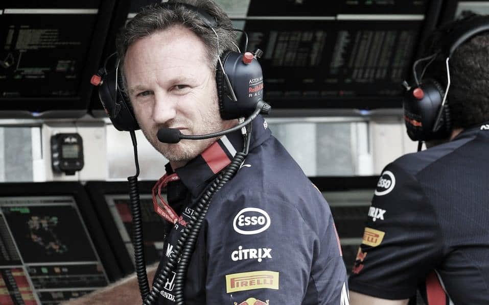 Christian Horner cogita que sucesso da Ferrari é devido a 'combustíveis mais viscosos'