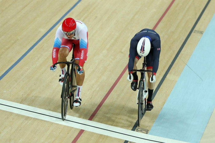 Dobradinha britânica: Reino Unido é imparável no ciclismo de pista