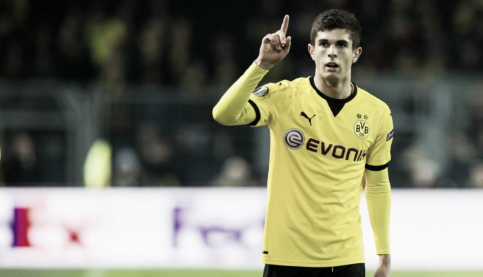 Liverpool offer £11 million for Borussia Dortmund teenager Christian Pulisic