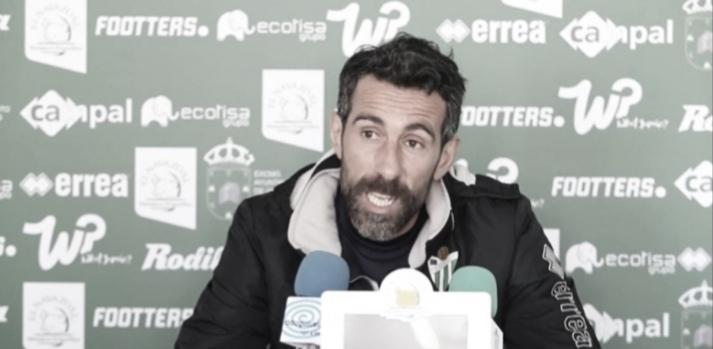 """Chuchi Jorqués: """"Hace falta un buen resultado para que se confirmen todas esas buenas sensaciones"""""""