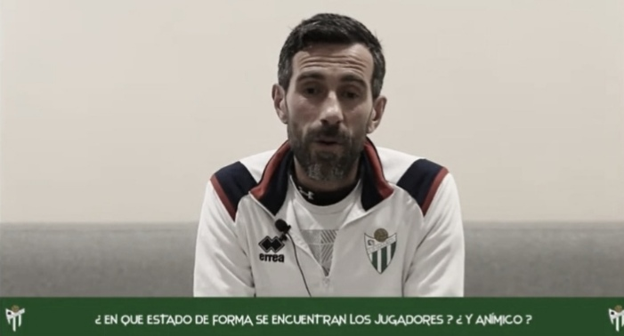 """Chuchi Jorqués: """"Mi intención es que el efecto del cambio de entrenador se vea reflejado en resultados"""""""