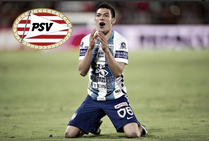 ¡Otro mexicano a Europa! Hirving Lozano llega al PSV