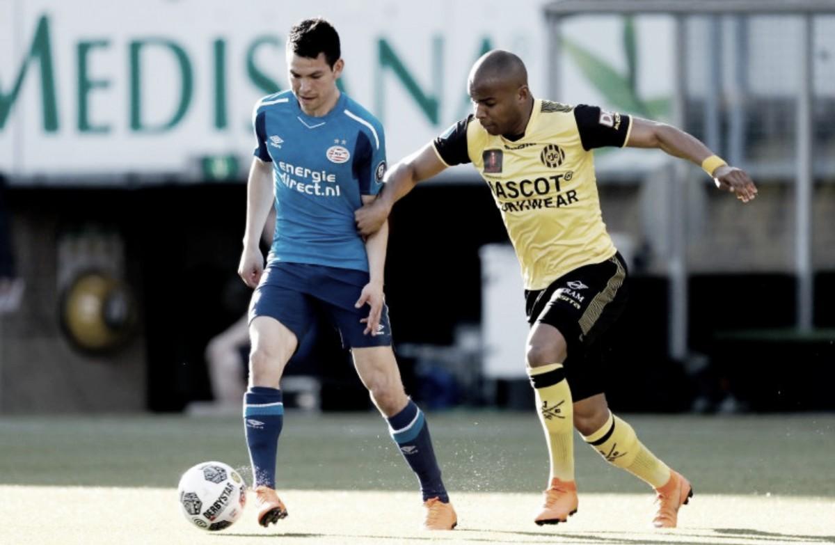 PSV Empata ante el Roda JC