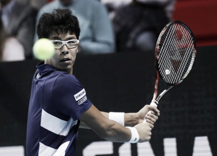 Chung vira contra Shapovalov e conquista primeira vitória no Next Gen Finals