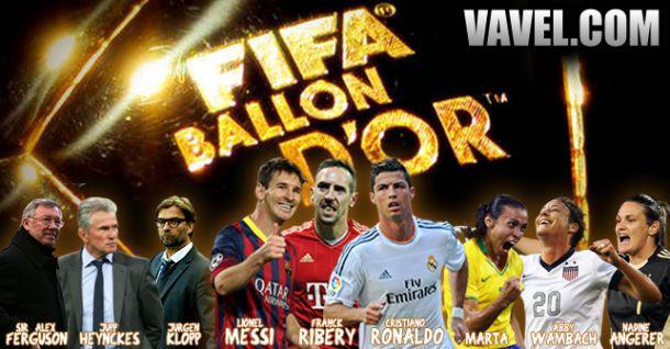 Premiação Bola de Ouro Fifa 2013