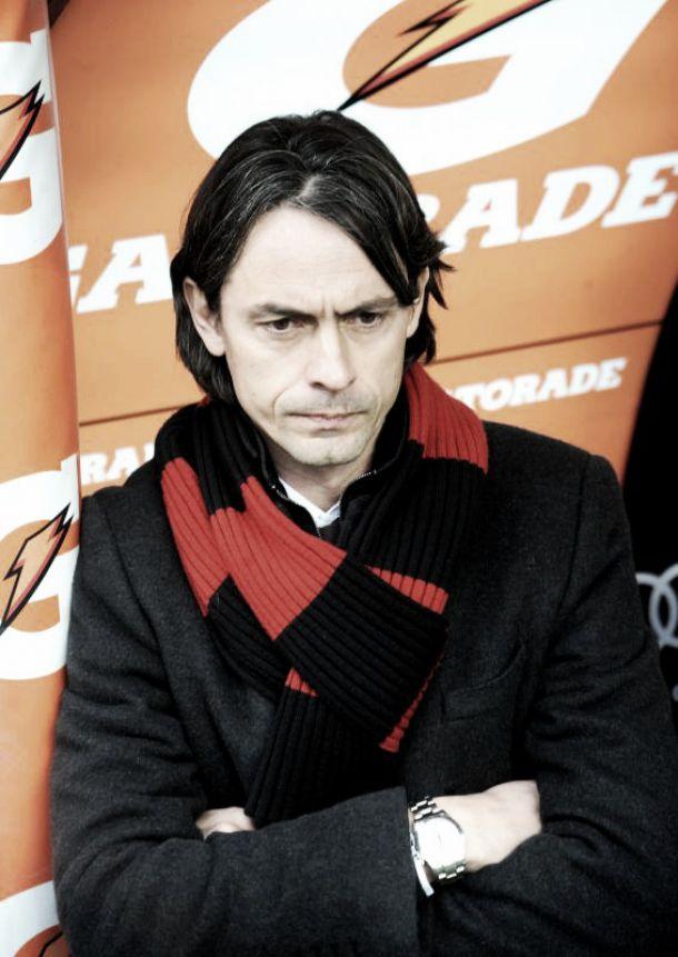 Milan, la panchina di Filippo Inzaghi traballa sempre di più