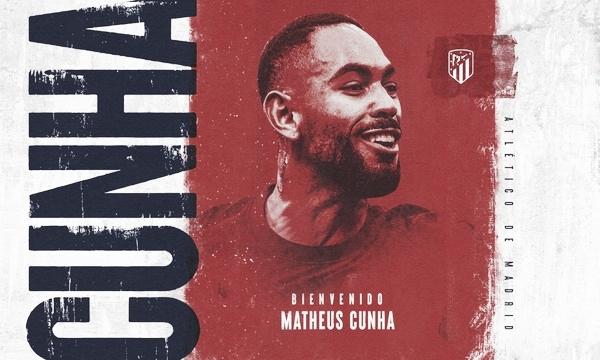 Matheus Cunha, nuevo jugador del Atlético de Madrid