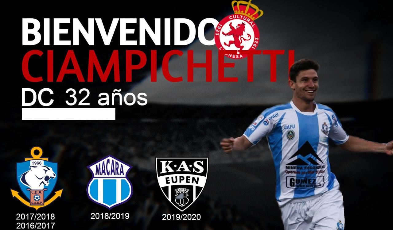 Flavio Ciampichetti es el nuevo hombre gol