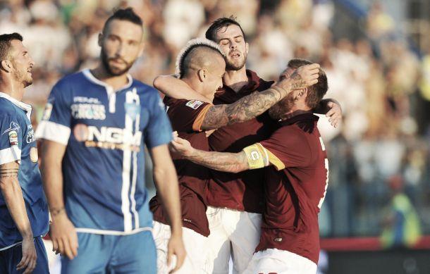 Diretta partita Roma - Empoli, risultati live di Serie A