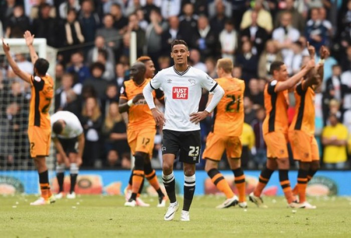 Playoff Championship: l'Hull si beve il Derby, 0-3 nell'andata a Pride Park