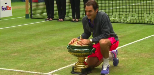 Le grand 8 pour Federer