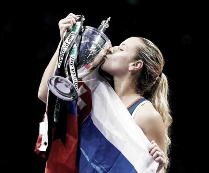 Dominika Cibulkova campeona del WTA Championship