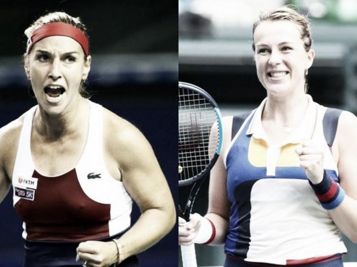 WTA Doha first round preview: Dominika Cibulkova vs Anastasia Pavlyuchenkova