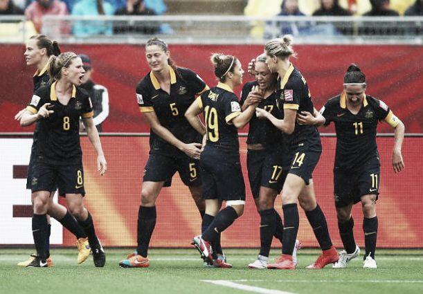 Brazil 0-1 Australia: Lacklustre Brazilians defeated by late goal from Kyah Simon