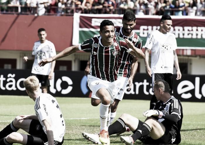 Cícero marca dois, Fluminense vence Ponte Preta e ascende na tabela do Brasileirão
