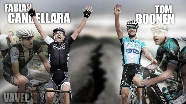 Tom Boonen - Fabian Cancellara: un duelo para la historia