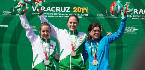 México hace el 1-2 en ciclismo de montaña para obtener sus primeras medallas