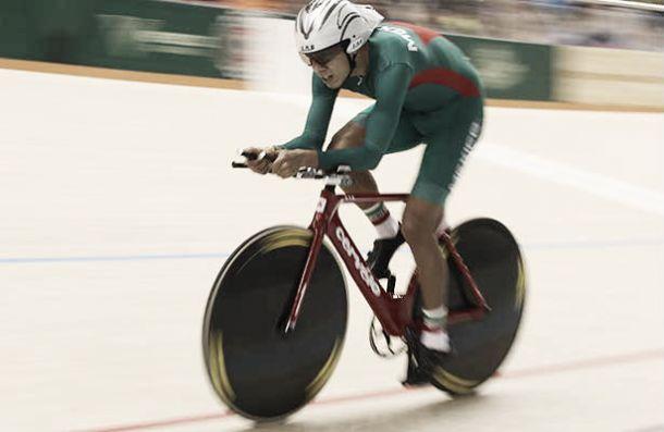 Ignacio de Jesús Prado gana medalla de oro en ciclismo