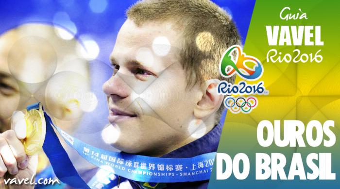 Ouro Olímpico: relembre a conquista e quebra de recorde de César Cielo em Pequim 2008