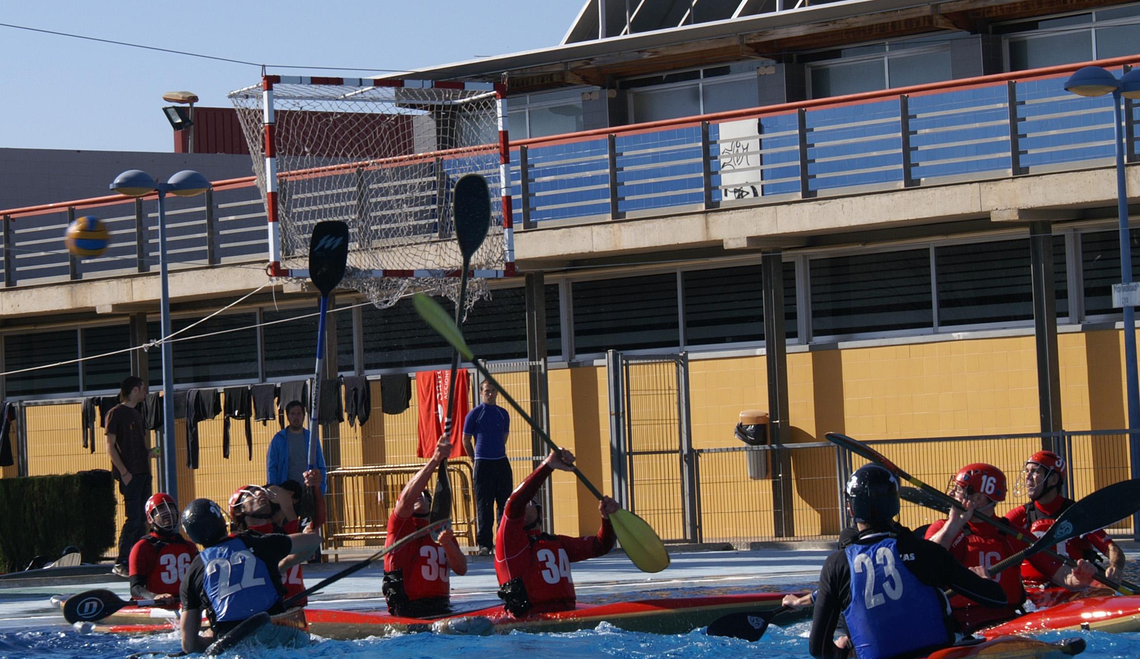 Kayak-polo, comienza la Liga