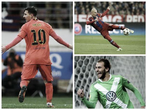 Messi, Robben e Dost: Estudo do CIES dos melhores avançados neste trimestre
