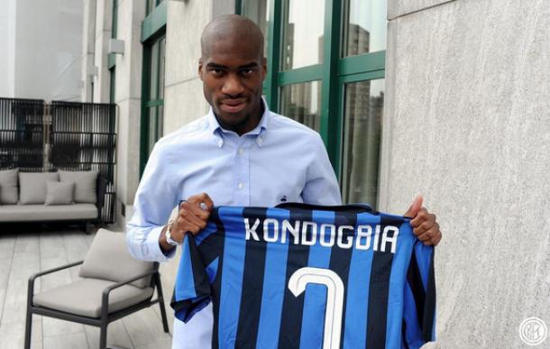 Kondogbia, un giorno di festa in casa Inter