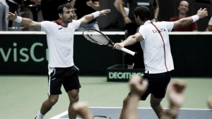 Copa Davis: Cilic e Dodig superam favoritos franceses; irmãos Murray descontam para a Grã Bretanha