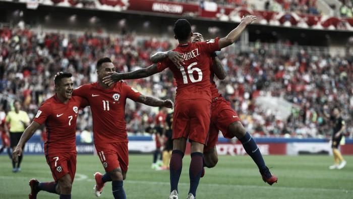 Confederations Cup 2017, Cile in semifinale: basta l'1-1 con l'Australia