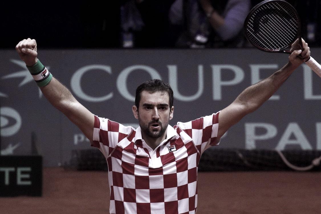 Cilic le da la Copa Davis a Croacia