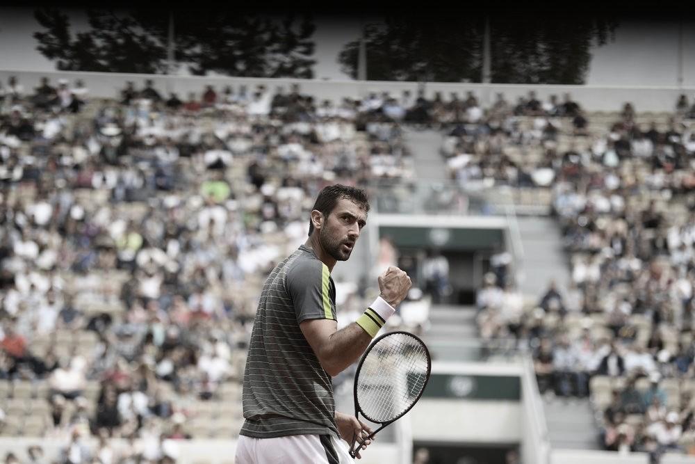 Cilic estreia em Roland Garros com vitória tranquila sobre Fabbiano