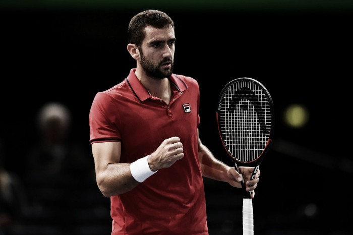 ATP Paris: Marin Cilic comes out on top of battle of the London hopefuls