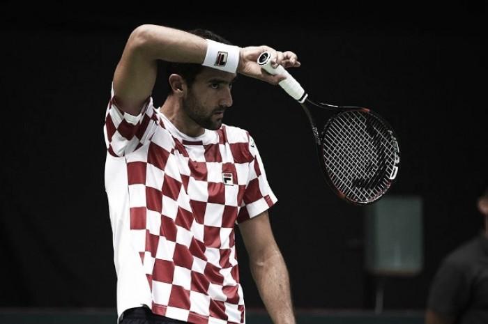 Copa Davis: Croacia y Francia no se sacaron ventaja