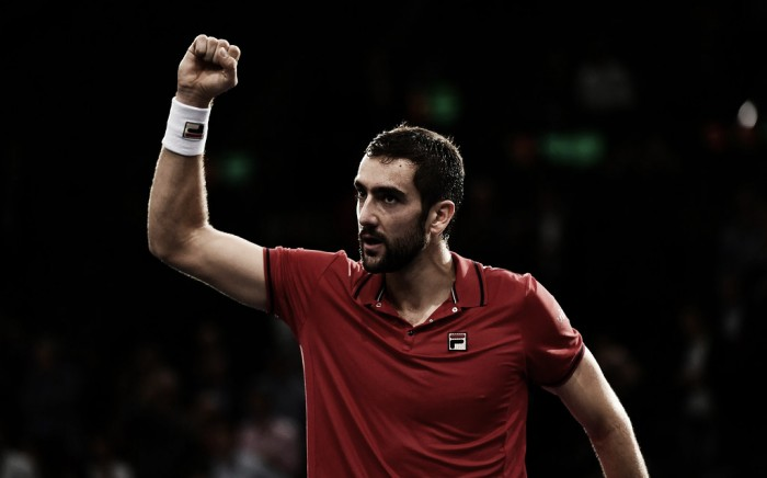 ATP Paris: Marin Cilic stuns Novak Djokovic to earn first win in fifteen attempts