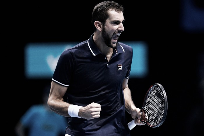 ATP World Tour Finals: Marin Cilic scores first win in six attempts with comeback victory over Kei Nishikori