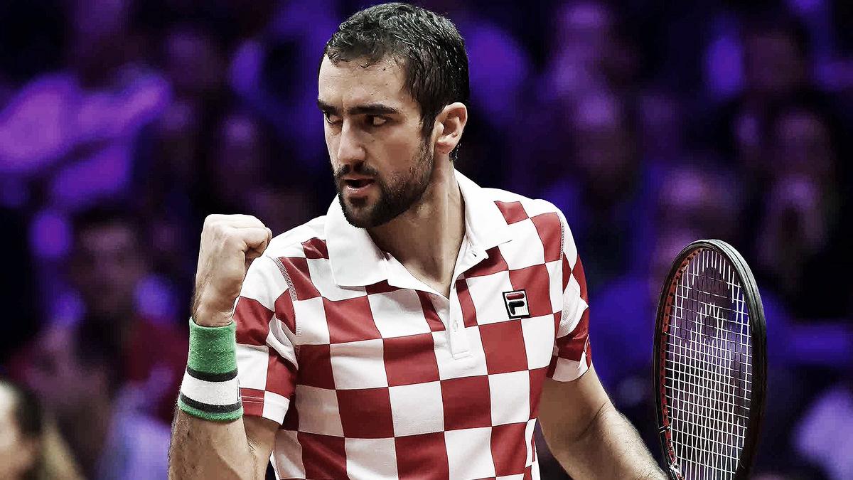 Cilic derrota Tsonga em sets diretos e deixa Croácia perto do título da Copa Davis