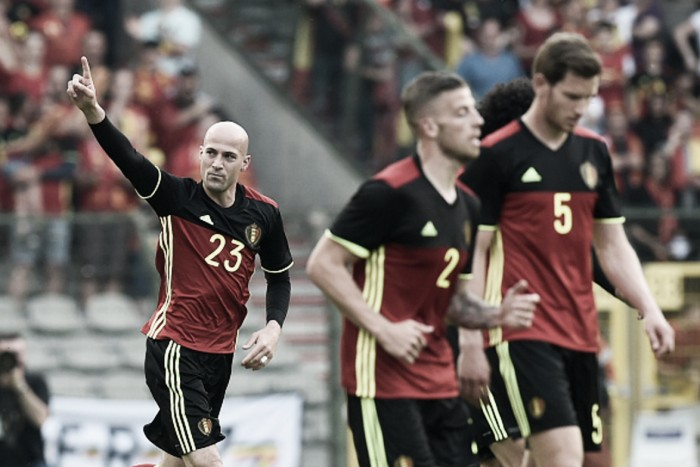 Belgium 3-2 Norway: Red Devils survive a send-off scare thanks to late turnaround