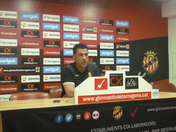 """Javier Olaizola: """"Estoy contento con el equipo hasta el 1-0"""""""