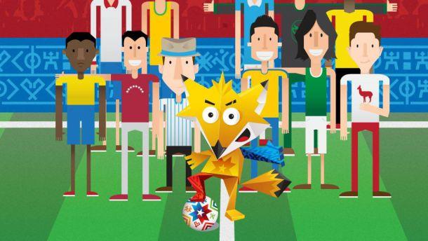 Copa América: las mascotas