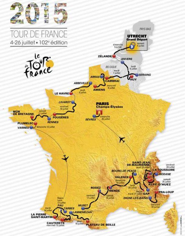 Tour de France : Présentation des équipes