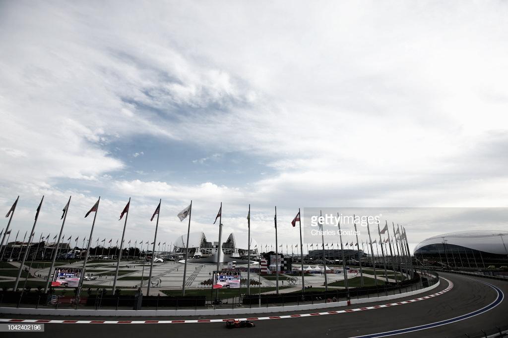 Resumen de la clasificación del GP de Rusia 2018 de Fórmula 1