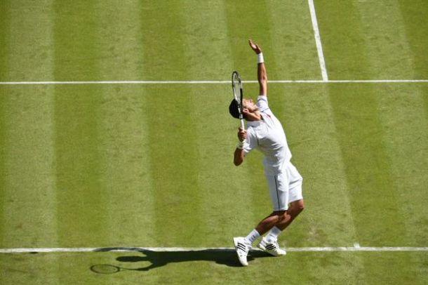 Wimbledon 2015, Djokovic supera in tre set Kohlschreiber