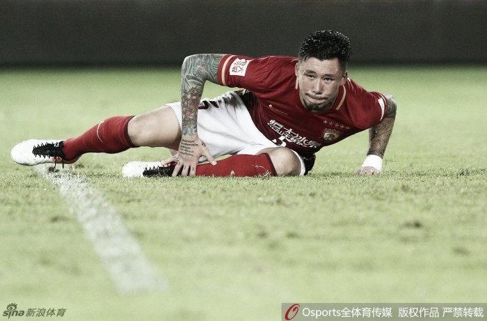Semifinais da Copa da China com surpresa no Cantão e decepção em Xangai