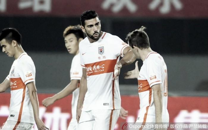 Graziano Pellè estreia, mas Shandong Luneng apenas empata na China