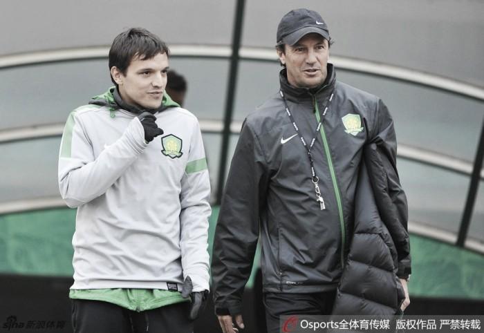 Espanhol José Manuel González é o novo técnico do Beijing Guoan
