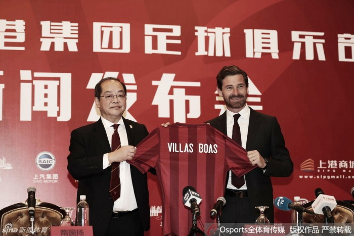 Shanghai SIPG oficializa saída de Sven-Göran Eriksson e chegada de André Villas-Boas