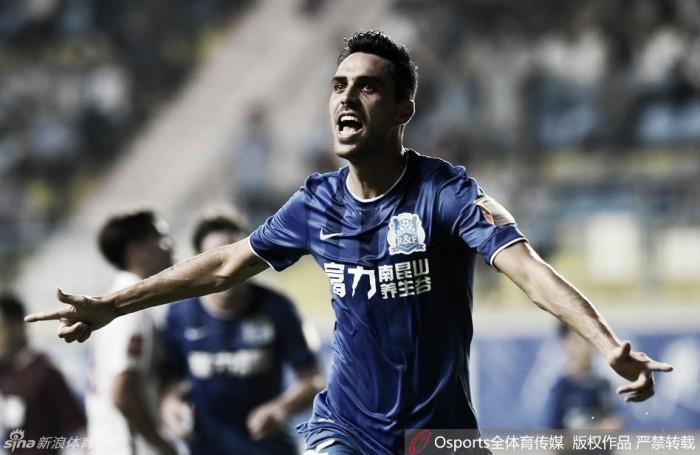 Quartas de final da Copa da China começa com show de gols e vitórias dos mandantes