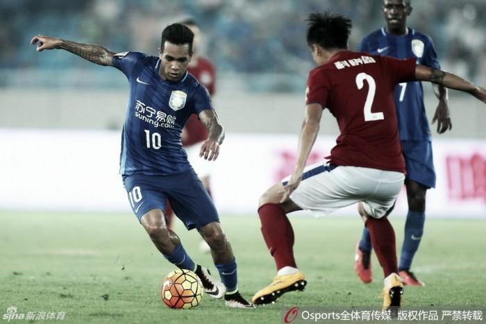 Semifinais da Copa da China tem clássico do Cantão e Jiangsu em busca do bicampeonato