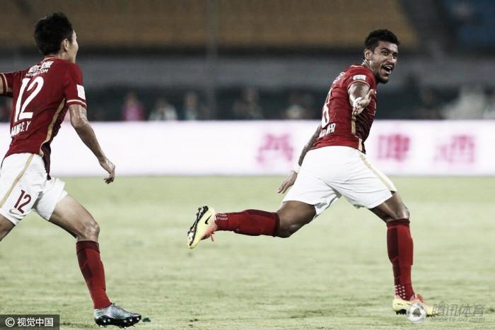 Paulinho se firma como um dos destaques do Guangzhou Evergrande e retorna à Seleção Brasileira