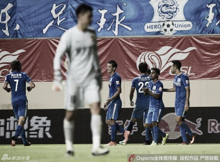 Guangzhou Evergrande é derrotado no clássico do Cantão e perde série invicta de 17 jogos